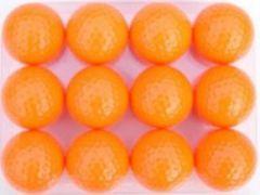 Floating Orange Range Golf Balls | Best4Balls