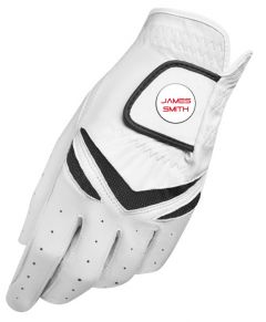 Personalised TaylorMade Leather golf glove | Best4Balls