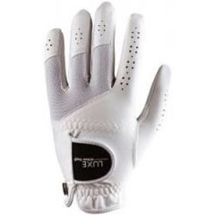 Wilson Ladies Luxe Golf Glove - White - LARGE | Best4Balls