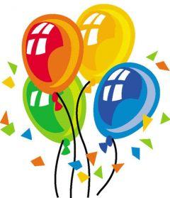 Happy Birthday Balloon Printed Golf Balls | Best4Balls