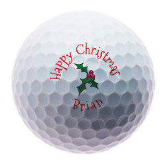 Personalised Holly golf balls | Best4Balls