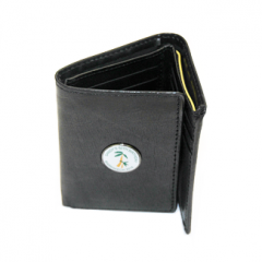 Personalised Leather Trifold Wallet
