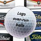 Titleist logo over-run golf balls | Best4Balls