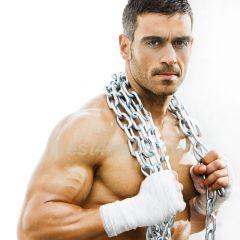 Muscle Hunk Hen Party Bachelorette Sexy Man Golf Balls | Best4Balls