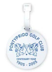 Printed Golf Bag Tag - Plastic