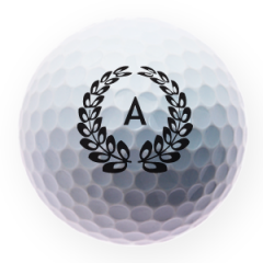 Personalised golf balls with your initials | Best4Balls
