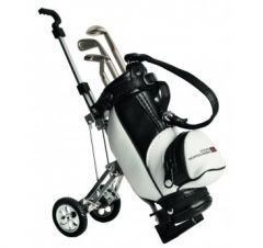 Golf Gift Colin Montgomerie Desktop Golf Bag and Pen Set | Best4Balls