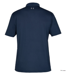 Under Armour Navy personalised Polo shirt   Best4Balls