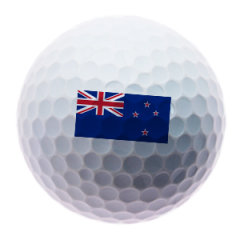 New Zealand Flag Printed Golf Balls | Best4Balls