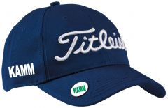 Printed Titleist Ball Marker Golf Cap navy | Best4Balls