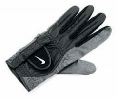 Nike Wet Weather Golf Glove - Black/Small