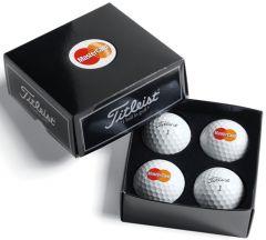 Titleist Dome Label 4-Ball Box | Best4Balls