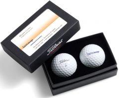 Titleist 2-Ball Business Card Box (excludes balls) | Best4Balls