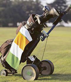 Country Flag Golf Towel - Ireland Irish Flag Towel   Best4Balls