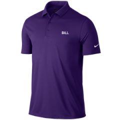 Nike Dri-Fit Logo Polo Sky Blue | Best4Balls