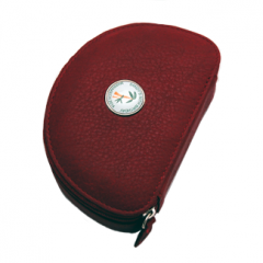 Personalised leather jewellery case
