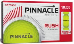 New Pinnacle Rush Yellow golf balls | Best4Balls