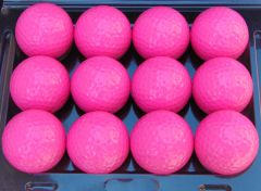 Personalised Non-Branded pink golf balls | Best4Balls