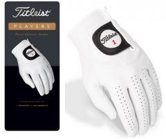 NEW Titleist Players Golf Glove - White