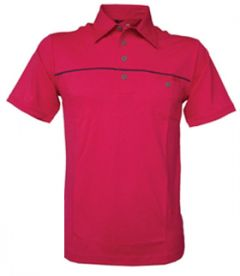 Adidas Climacool Pocket Mesh Golf Polo Shirt - Neon | Best4Balls