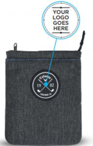 Callaway logo pouch