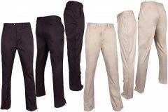Pringle Scotty Flat Front Golf Trousers - Khaki | Best4Balls