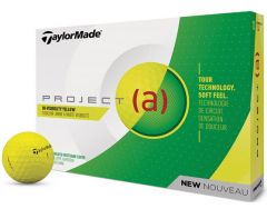 TaylorMade Project (a) Yellow personalised Golf Balls | Best4Balls