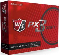 PX3 Soft Wilson Logo Printed Golf Balls | Best4Balls