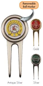 Personalised Deluxe Golf Pitch Repairer & Ball Marker | Best4Balls