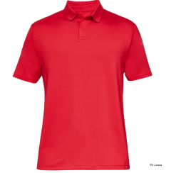 Red personalised Under Armour Polo   Best4Balls