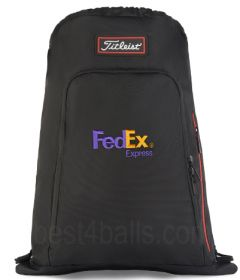 Titleist logo Sackpack logo or embroidered | Best4Balls