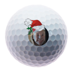 Personalised Father Christmas golf balls | Best4Balls