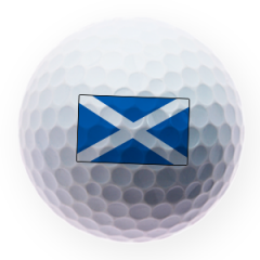 Scottish Flag Printed Golf Balls | Best4Balls