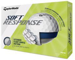 Logo printed TaylorMade Soft Response golf balls | Best4Balls