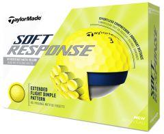 Personalised Soft Response Yellow golf balls | |Best4Balls
