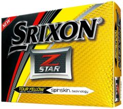 Z-Star Tour Yellow Personalised Srixon Golf Balls | Best4Balls