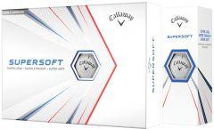 Callaway Supersoft Logo Printed Golf Balls | Best4Balls