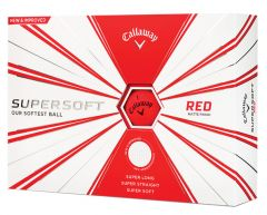 Supersoft Yellow Personalised Callaway Golf Balls | Best4balls