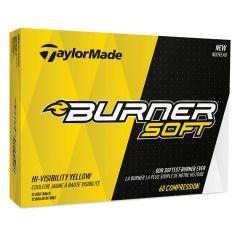 Burner Soft TaylorMade Logo Golf Ball | Best4Balls