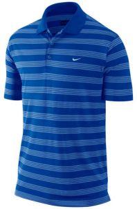 Nike Golf Tech Stripe Polo Shirt L.C. in Dark Blue | Best4Balls