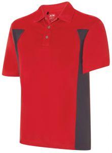 Adidas Climacool Textured Colour Block Polo Shirt - Neon
