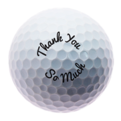 Thank You So Much golf balls | Best4Balls