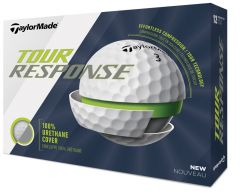New TaylorMade Tour Response personalised golf balls | Best4Balls
