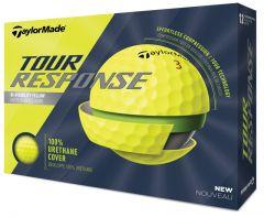 New TaylorMade Tour Response Yellow golf balls | Best4Balls