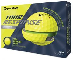 Personalised TaylorMade Tour Response Yellow | Best4Balls