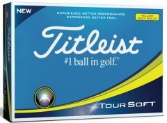 New Titleist personalised Tour Soft golf balls | Best4Balls