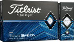 New Titleist Tour Speed logo golf balls | Best4Balls