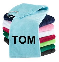 Personalised Golf Towels | Best4Balls