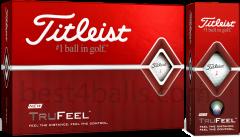 Logo printed Titleist TruFeel golf balls | Bes4Balls