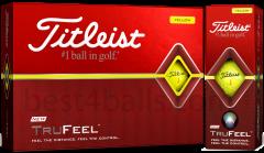 Logo printed Titleist TruFeel golf balls | Best4Balls